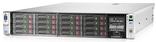 Сервер HP ProLiant DL380e Gen8 (2U)