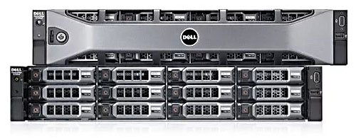 Сервер Dell PowerEdge R720xd (2U)