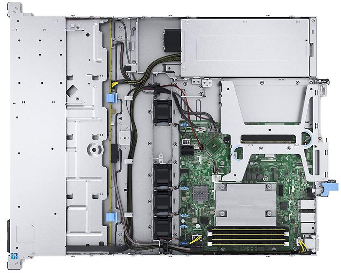 Dell PowerEdge R240 вид внутри