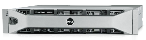 Дисковая полка Dell PowerVault MD1200