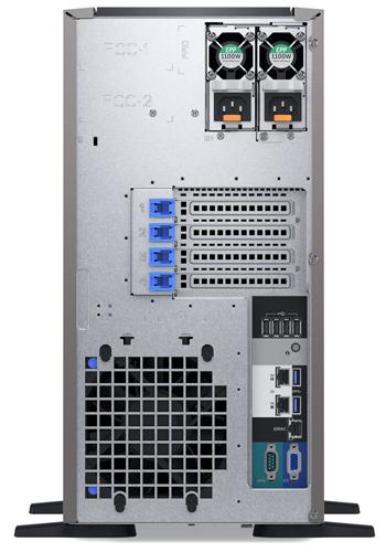 Dell PowerEdge T340 вид сзади