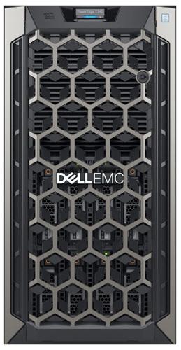 Dell PowerEdge T340 вид спереди