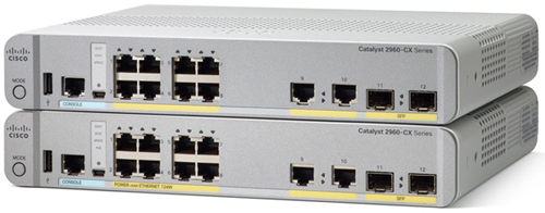 Коммутаторы Cisco Catalyst 2960-CX