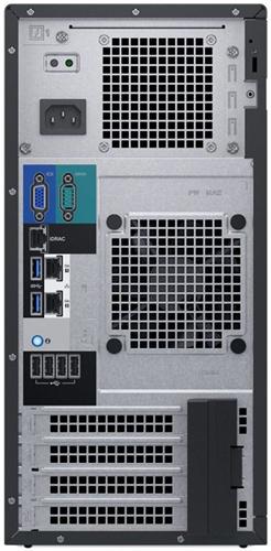 Dell PowerEdge T140 вид сзади