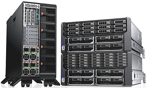 Платформа Dell PowerEdge VRTX