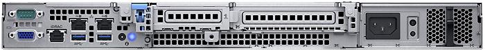 Dell PowerEdge R240 вид сзади