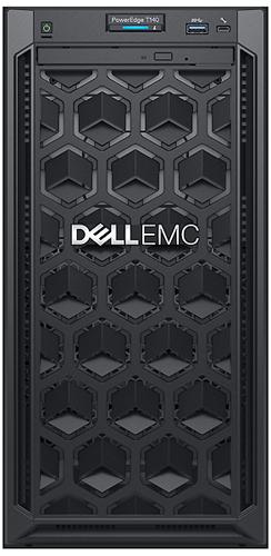 Dell PowerEdge T140 вид спереди