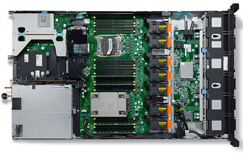 Сервер Dell PowerEdge R630 (1U)