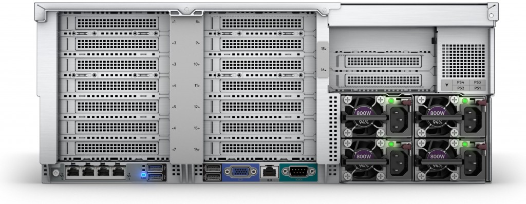 Сервер HPE ProLiant DL580 Gen10 (4U)