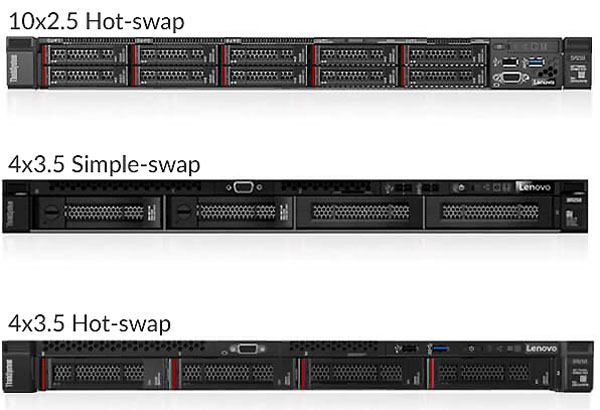 Сервер Lenovo ThinkSystem SR250