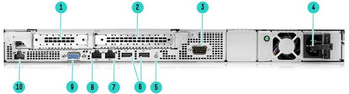 Сервер HPE Proliant DL20 Gen10