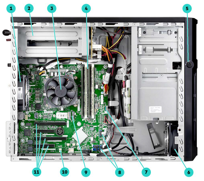 Сервер HPE Proliant ML30 Gen10